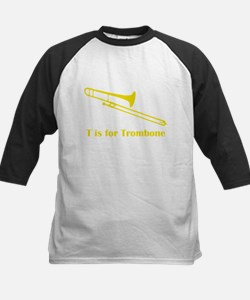 T Is For Trombone Baseball Jersey