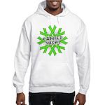 Non-Hodgkins Cancer Sucks Hooded Sweatshirt