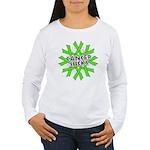 Non-Hodgkins Cancer Sucks Women's Long Sleeve T-Sh