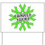 Non-Hodgkins Cancer Sucks Yard Sign