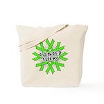 Non-Hodgkins Cancer Sucks Tote Bag