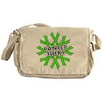 Non-Hodgkins Cancer Sucks Messenger Bag