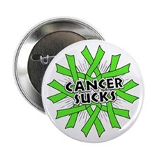 "Non-Hodgkins Cancer Sucks 2.25"" Button (10 pack)"