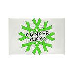 Non-Hodgkins Cancer Sucks Rectangle Magnet
