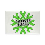 Non-Hodgkins Cancer Sucks Rectangle Magnet (10 pac
