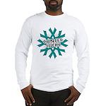 Ovarian Cancer Sucks Long Sleeve T-Shirt