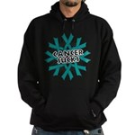 Ovarian Cancer Sucks Hoodie (dark)