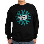 Ovarian Cancer Sucks Sweatshirt (dark)