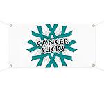 Ovarian Cancer Sucks Banner