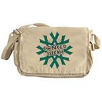 Ovarian Cancer Sucks Messenger Bag