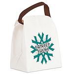 Ovarian Cancer Sucks Canvas Lunch Bag