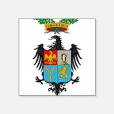 Palermo Coat of Arms Rectangle Sticker