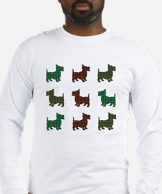 Scotties Squared Long Sleeve T-Shirt