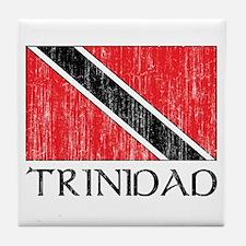 Trinidad Flag Tile Coaster