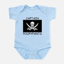 Captain Poopypants Body Suit