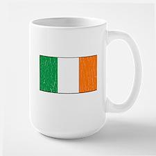 Vintage Irish Flag (Distressed) Mug