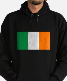 Vintage Irish Flag (Distressed) Hoodie
