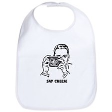 Say Cheese Bib