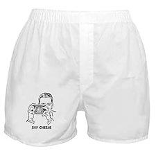 Say Cheese Boxer Shorts
