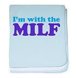Funny milf Blanket