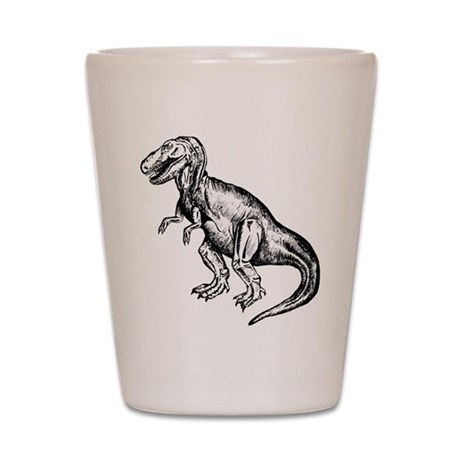 T-Rex Shot Glass