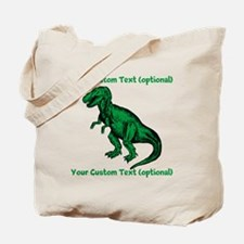 CUSTOM TEXT T-Rex Tote Bag