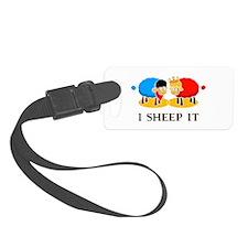 I Sheep It Luggage Tag