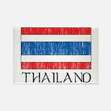 Thailand Flag Rectangle Magnet