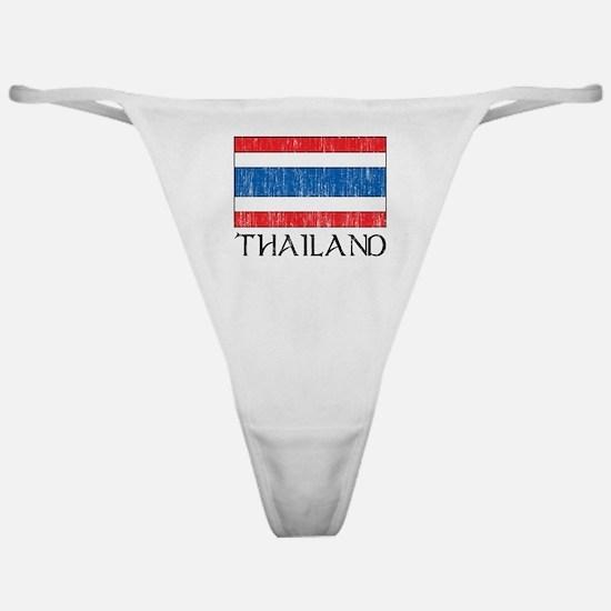 Thailand Flag Classic Thong