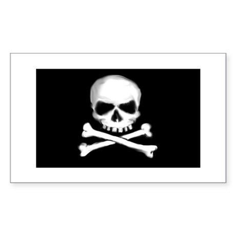 Pirate Rectangle Sticker