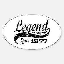 Legend Since 1977 Decal