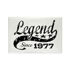Legend Since 1977 Rectangle Magnet