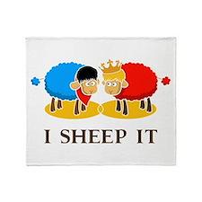 I Sheep It Throw Blanket