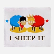I Sheep It Throw Blanket