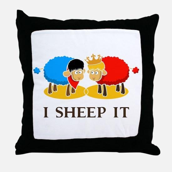 I Sheep It Throw Pillow