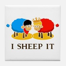 I Sheep It Tile Coaster