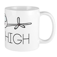 'I Get High' Mug