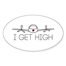 'I Get High' Decal