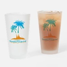 PALMS - PARADISE Drinking Glass
