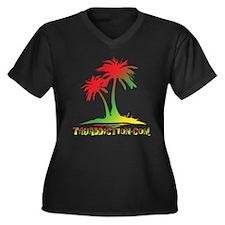 PALMS - RASTA Plus Size T-Shirt