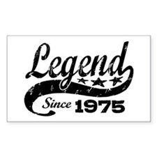 Legend Since 1975 Decal