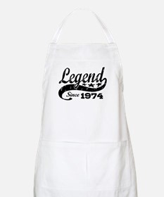 Legend Since 1974 Apron