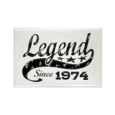Legend Since 1974 Rectangle Magnet
