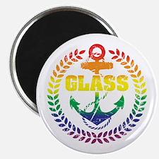 "GLASS 2.25"" Magnet"