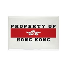 Property Of Hong Kong Rectangle Magnet