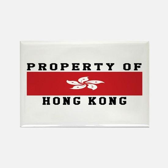 Property Of Hong Kong Rectangle Magnet