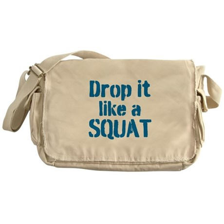 Drop it like a SQUAT Messenger Bag