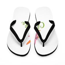 Easter Bunny Christa Flip Flops