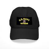 Navy Black Hat