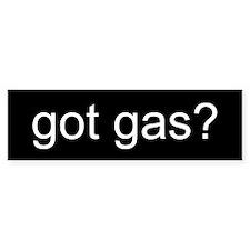 GOT GAS? Bumper Bumper Sticker